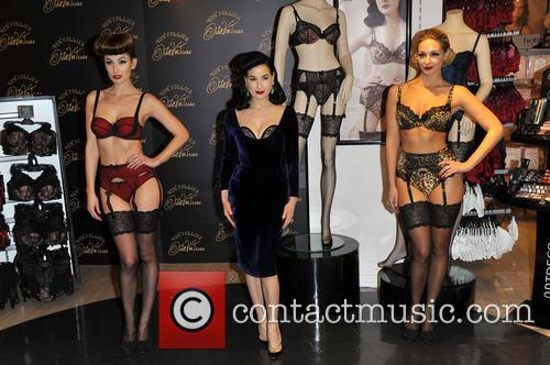 Dita Von Teese, Von Follies and Debenhams 8