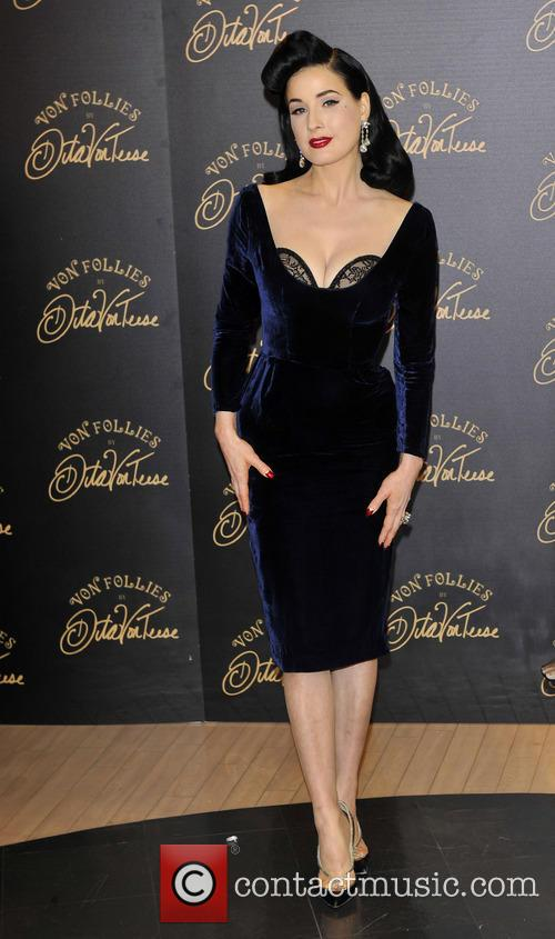 Dita Von Teese, Von Follies and Debenhams 7