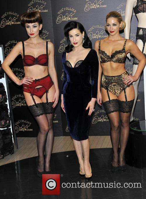 Dita Von Teese, Von Follies and Debenhams 5