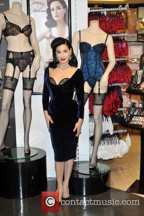 Dita Von Teese, Von Follies and Debenhams 2