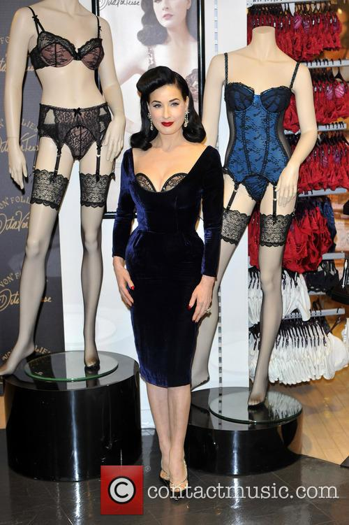 Dita Von Teese, Von Follies and Debenhams 3