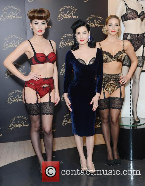 Dita Von Teese, Von Follies and Debenhams 1