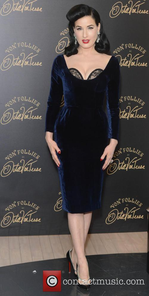 Dita Von Teese, Von Follies and Debenhams 35