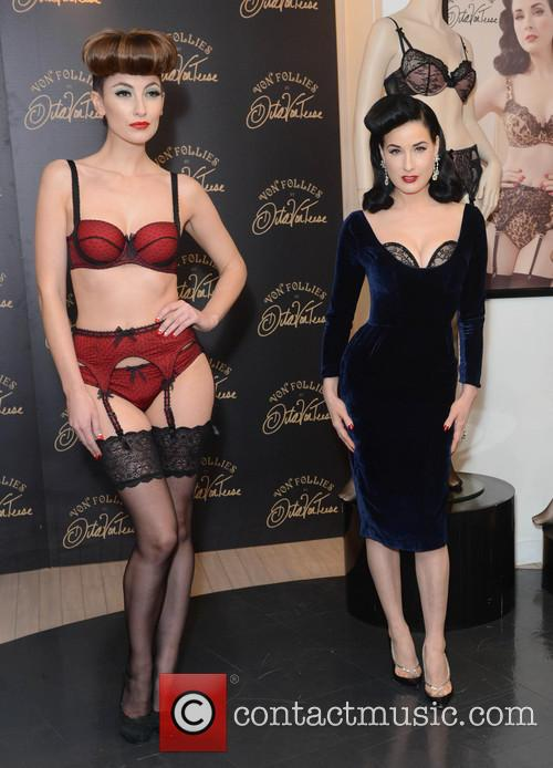 Dita Von Teese, Von Follies and Debenhams 30