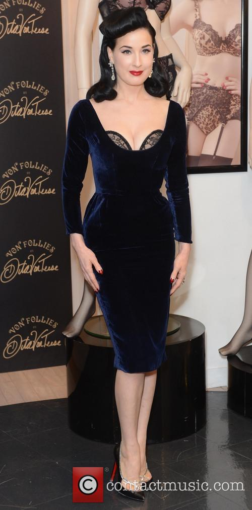 Dita Von Teese, Von Follies and Debenhams 27