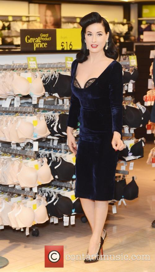 Dita Von Teese, Von Follies and Debenhams 36