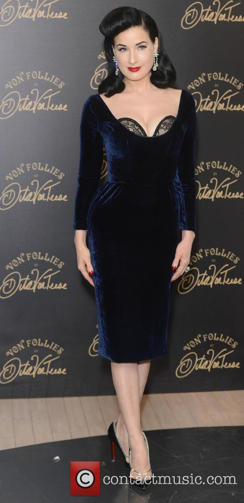 Dita Von Teese, Von Follies and Debenhams 29