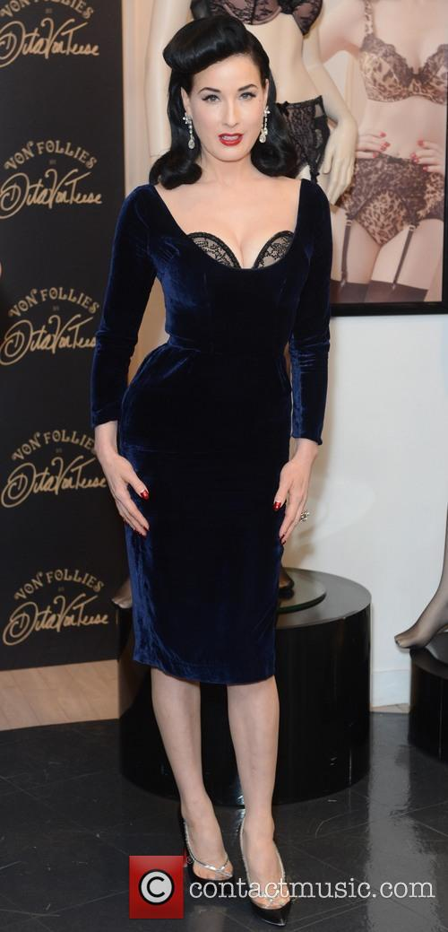 Dita Von Teese, Von Follies and Debenhams 33