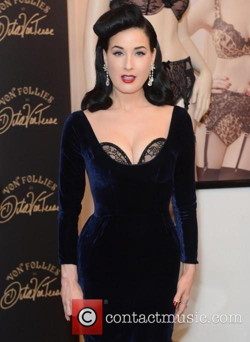 Dita Von Teese, Von Follies and Debenhams 25
