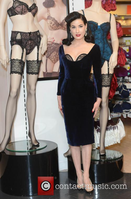 Dita Von Teese, Von Follies and Debenhams 26