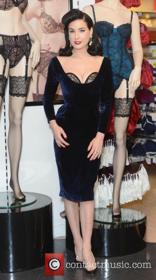 Dita Von Teese, Von Follies and Debenhams 21