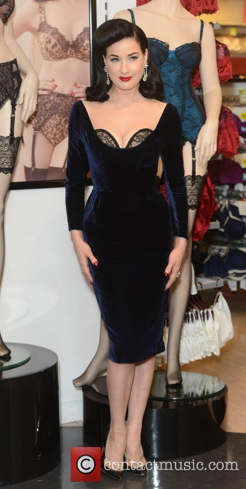 Dita Von Teese, Von Follies and Debenhams 20