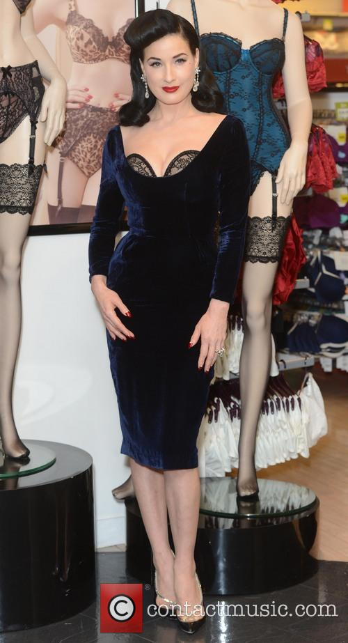 Dita Von Teese, Von Follies and Debenhams 23