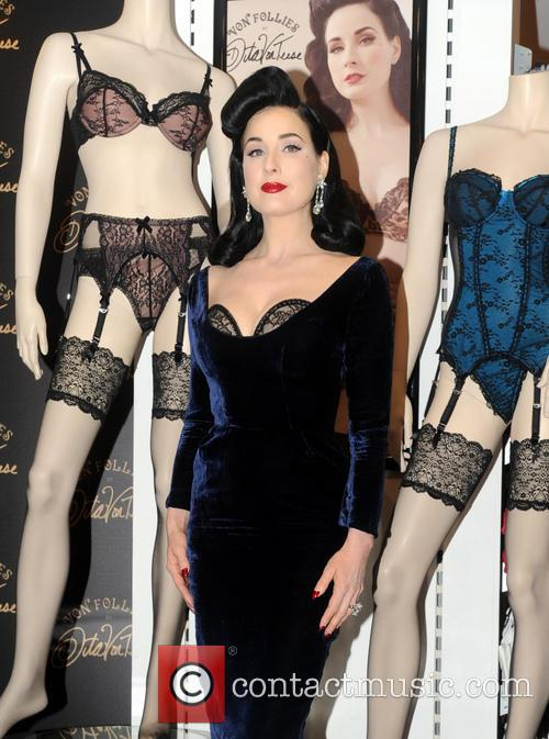 Dita Von Teese, Von Follies and Debenhams 11