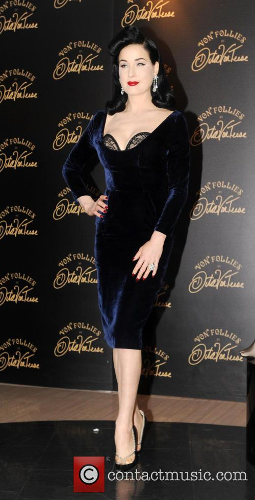 Dita Von Teese, Von Follies and Debenhams 10