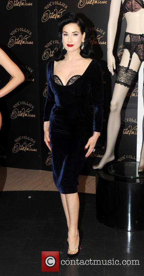 Dita Von Teese, Von Follies and Debenhams 14