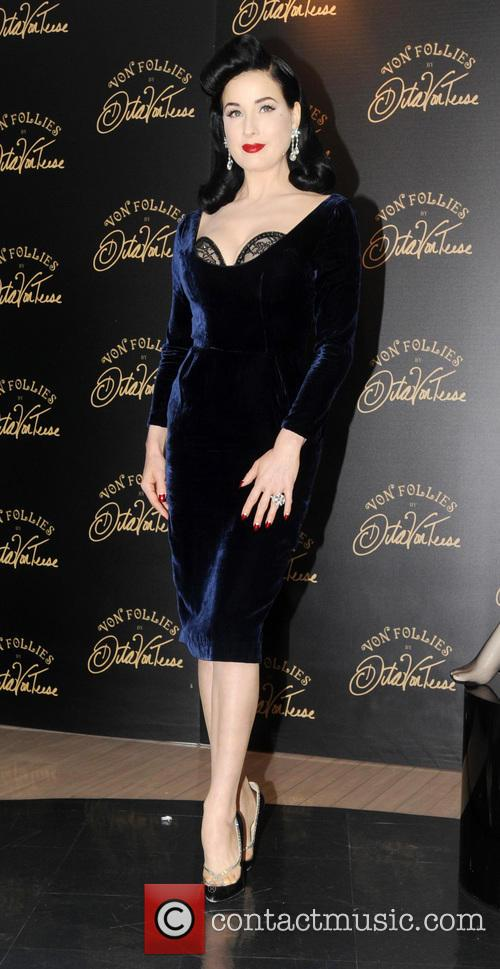 Dita Von Teese, Von Follies and Debenhams 18
