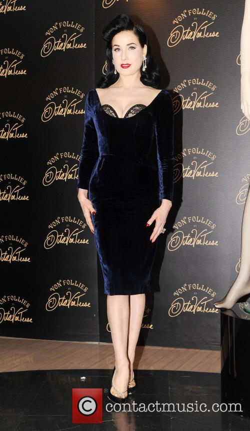 Dita Von Teese, Von Follies and Debenhams 15