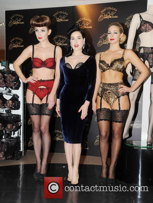 Dita Von Teese, Von Follies and Debenhams 13