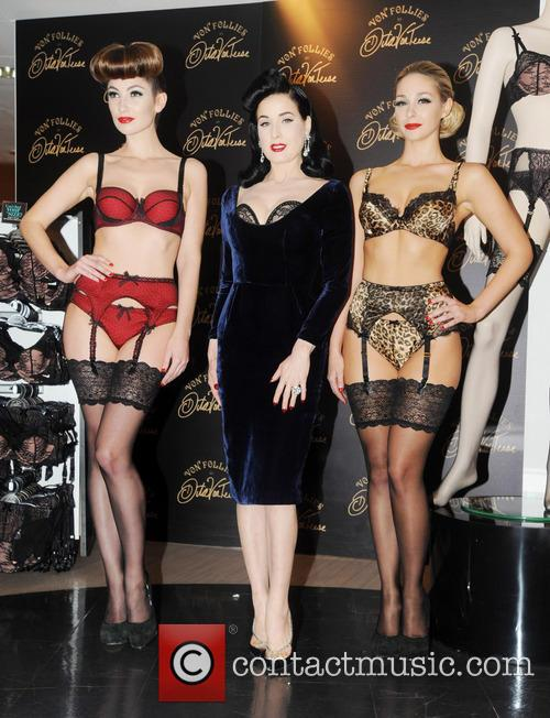 Dita Von Teese, Von Follies and Debenhams 19