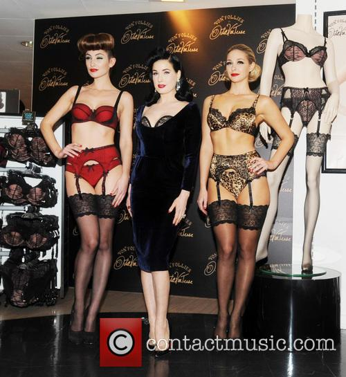 Dita Von Teese, Von Follies and Debenhams 12