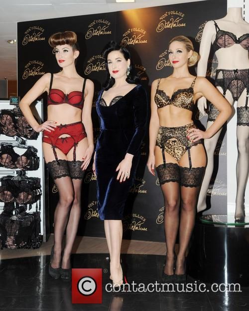 Dita Von Teese, Von Follies and Debenhams 17