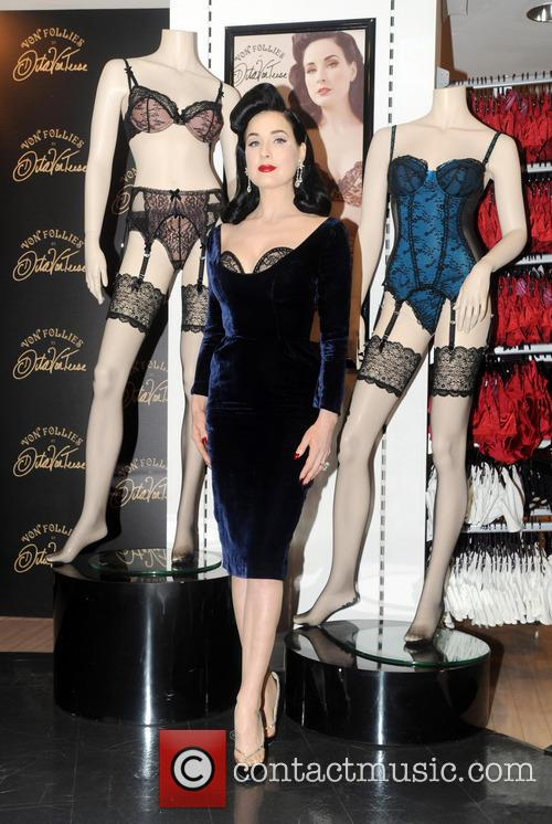 Dita Von Teese, Von Follies and Debenhams 16