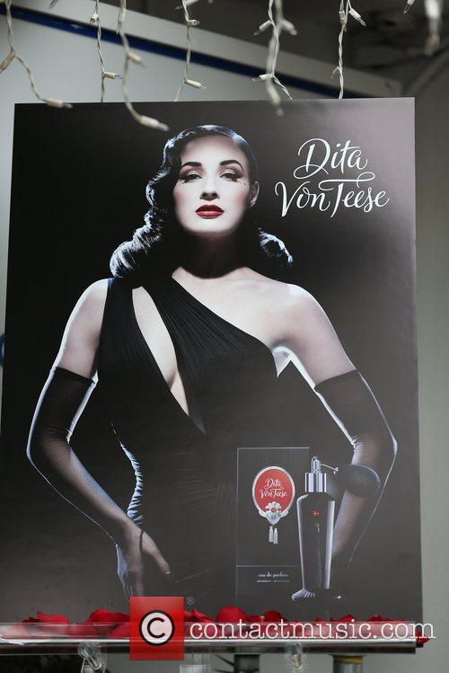 For Dita Von Teese's pre-Christmas promotional event for...
