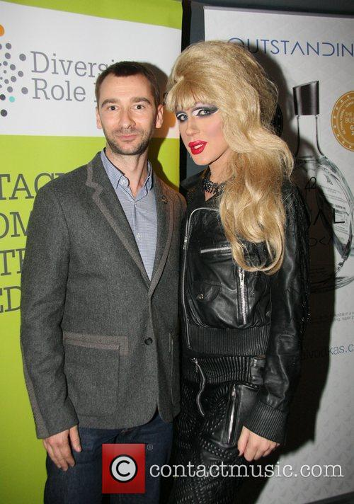 Charlie Condou and Jodie Harsh  at the...