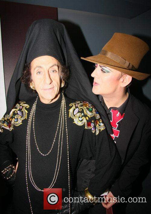 Philip Salon and Boy George  at the...