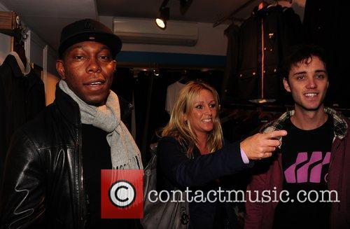 dizzee rascal shopping at the opening of 3639228