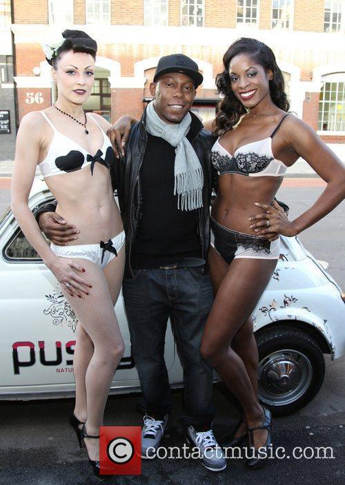 dizzee rascal and models attend the launch 3642634