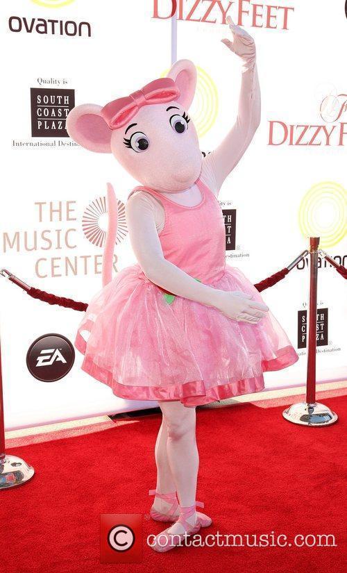 Angelina Ballerina 2nd Annual Dizzy Feet Foundation's Celebration...