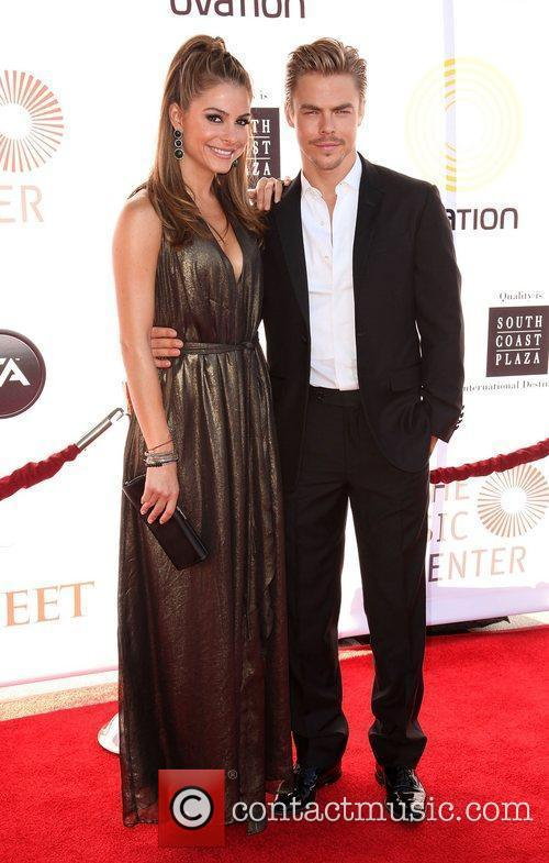 Maria Menounos and Derek Hough 2