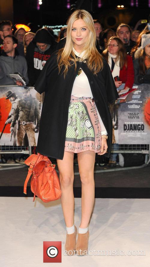 The UK premiere of 'Django Unchained' held at...