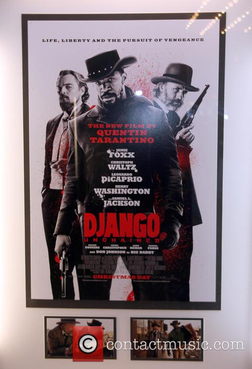 The Weinstein Company Presents, Django Unchained, Quentin Taratino and Zeigfeld Theater 1