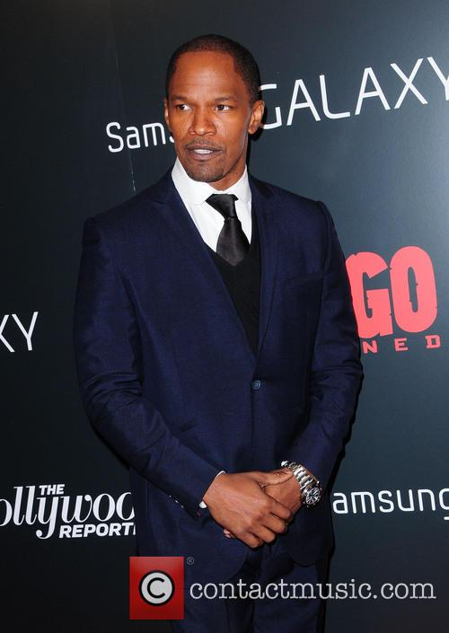 Jamie Foxx, Django Unchained and Ziegfeld Theatre 1