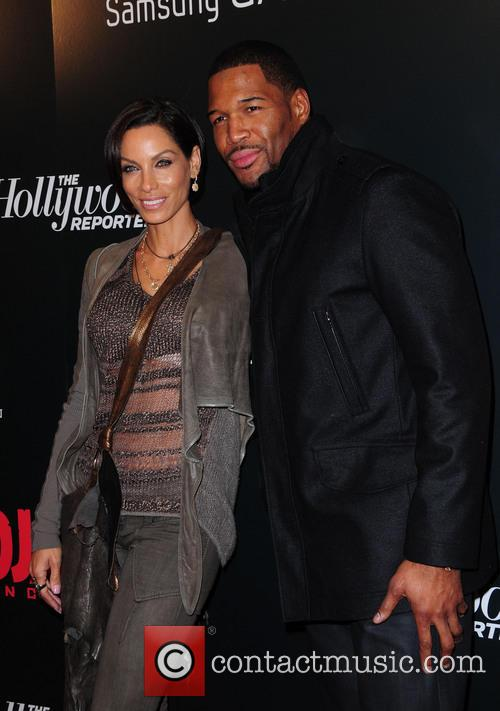 Michael Strahan, Nicole Murphy and Ziegfeld Theatre 4