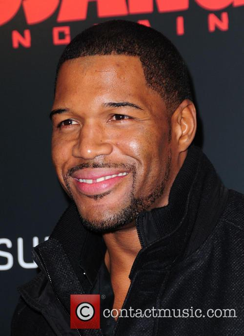 Michael Strahan, Django Unchained and Ziegfeld Theatre 2