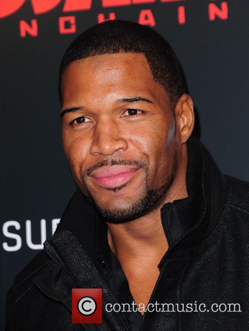 Michael Strahan, Django Unchained and Ziegfeld Theatre 3