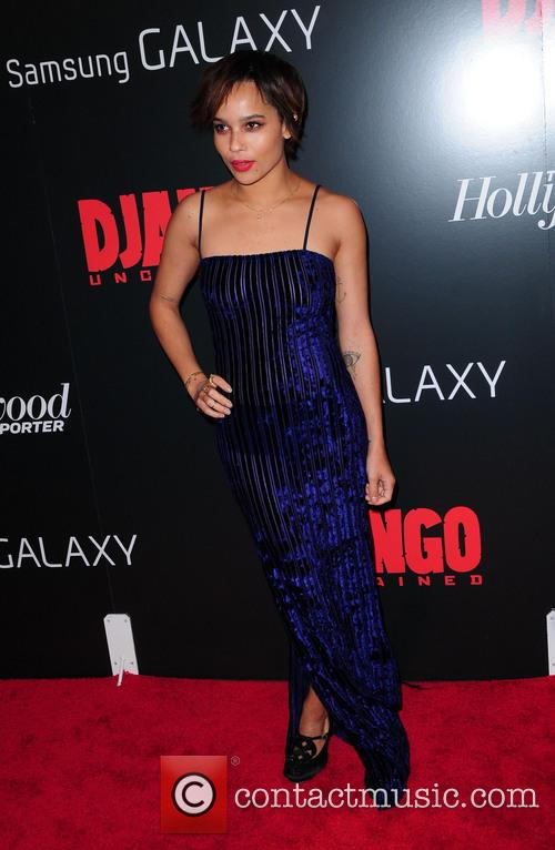 Zoe Kravitz, Django Unchained and Ziegfeld Theatre 2