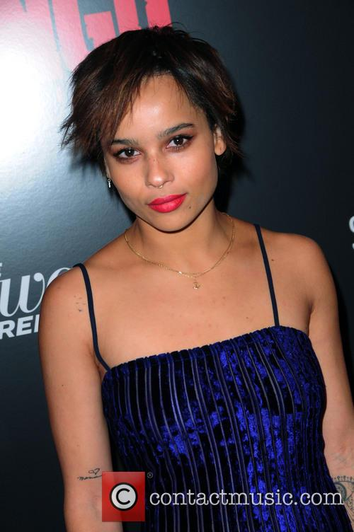 Zoe Kravitz, Django Unchained and Ziegfeld Theatre 1
