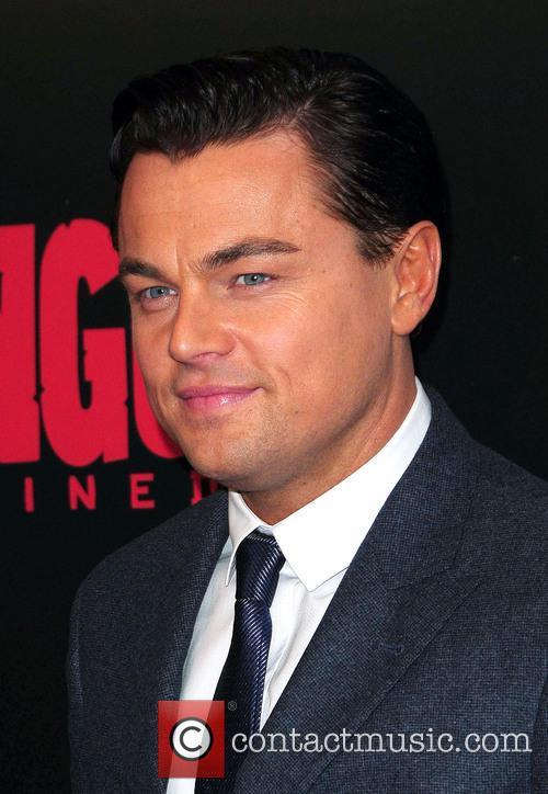 Leonardo Dicaprio, Django Unchained and Ziegfeld Theatre 1