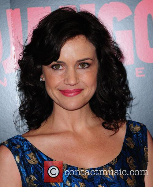 Carla Gugino, Django Unchained and Ziegfeld Theatre 4