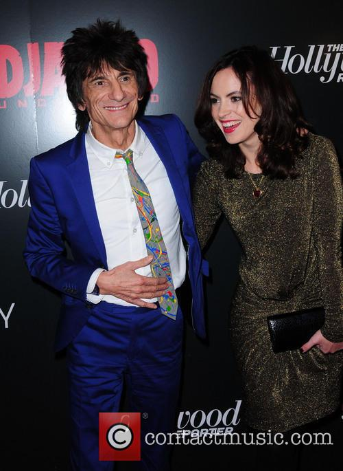 Ronnie Wood, Sally Humphries, Ziegfeld Theatre