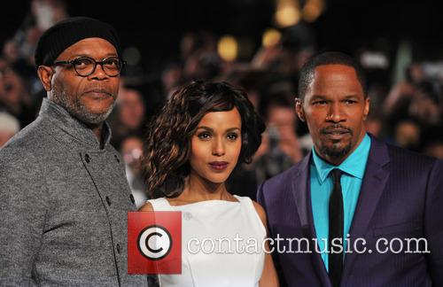 jamie foxx kerry washington samuel l jackson 20051080
