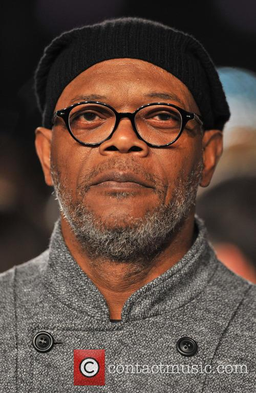 Samuel L Jackson and Empire Leicester Square 2