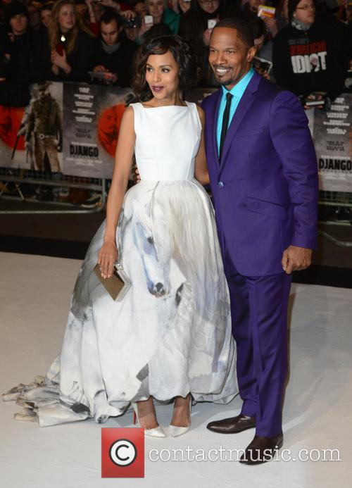 Kerry Washington and Jamie Foxx 11