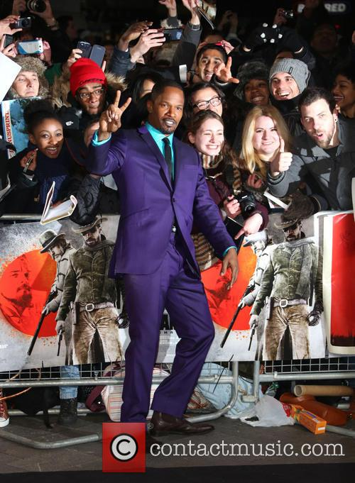 Jamie Foxx and Empire Leicester Square 8