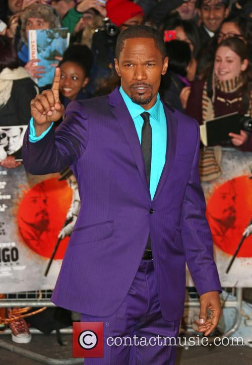Jamie Foxx and Empire Leicester Square 5